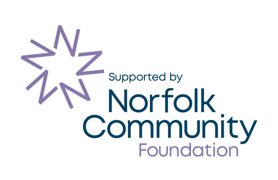 Supported by Norfolk Community Foundation logo